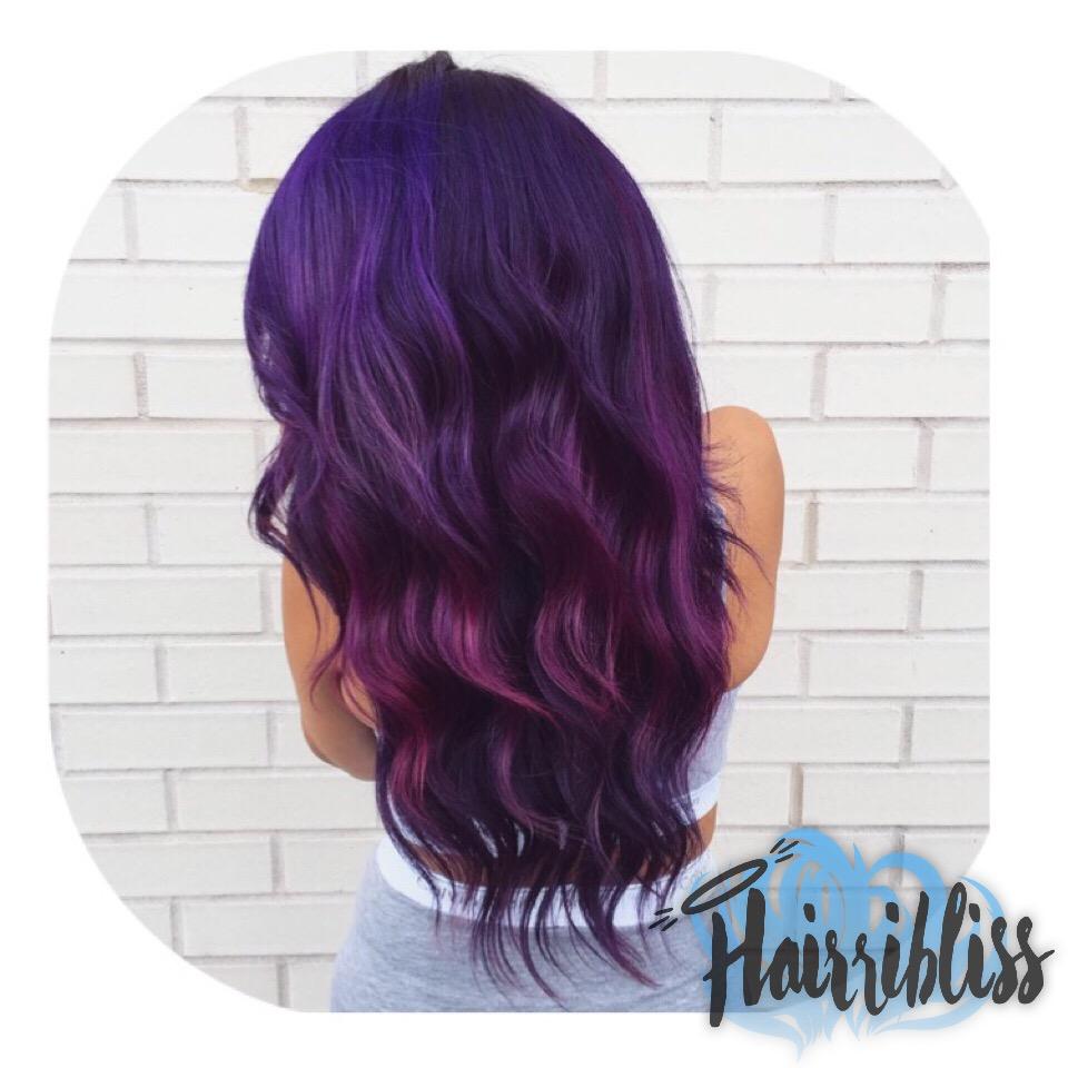 Hair color, waves, natural hair, hairribliss on hairrible.com, @desthydee