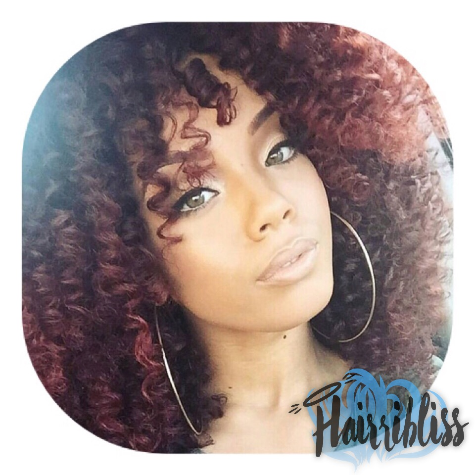 Model Neeandra Brooks, Hairribliss on Hairrible, natural hair, curls