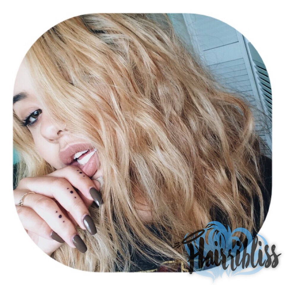 Kas.Nicole, Hairribliss on Hairrible.com, blonde ambition, wavy hair, natural hair