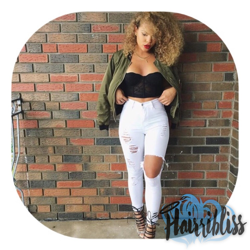 Caandyvonnee on Hairrible.com. Hairribliss hair