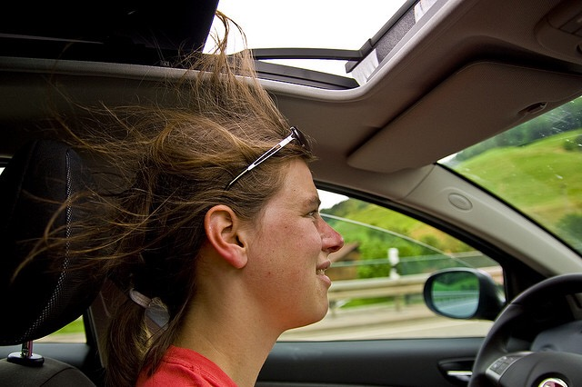 sunroof hair fail, hairrible