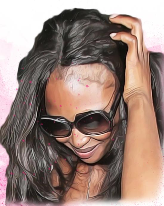 Naomi Campbell, wig slip, natural hair, hairrible, hairrible.com