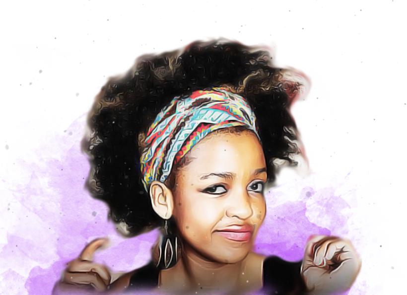 Natural Hair, Bug in Afro, Hairrible, hairrible.com