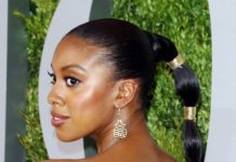 Condola Rashad, bubbly ponytail, tony awards, hairirble, natural hair, hairrible.com