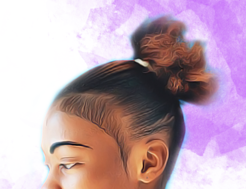 thin weave ponytail, broken relaxed hair, hairrible hair, embarrassing hair day, bad hair day